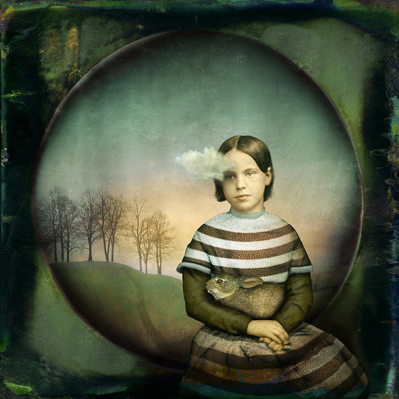 Girl With A Small Cloud