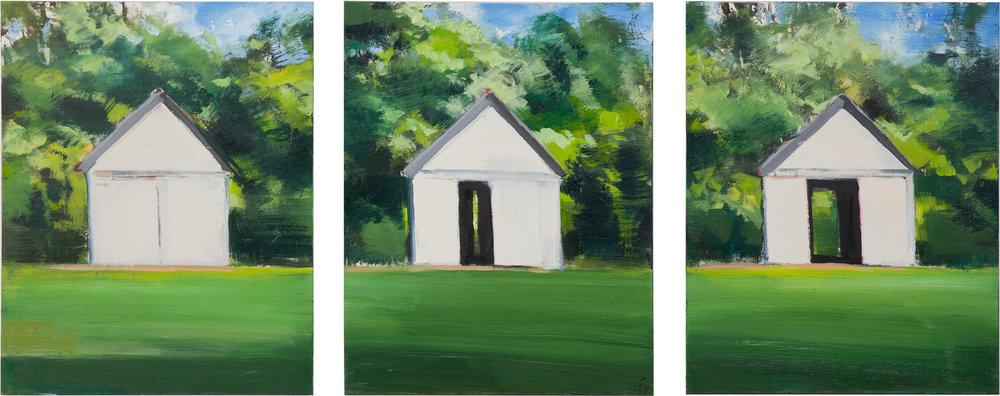 3 Barns, 28 x 22 each