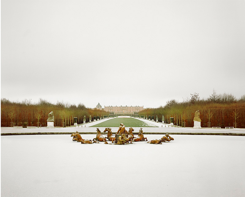 Morning Snow, Versailles, 2010
