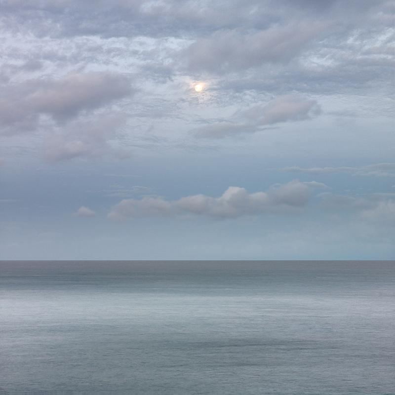 Setting Moon, Maui, Hawaii, 2011
