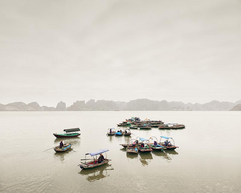 Water Taxis, Vinh Ha Long, Vietnam, 2012