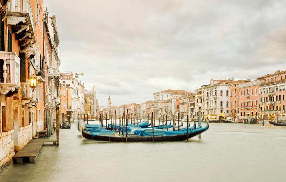 Gondola Station II, Grand Canal, Venice, Italy, 2012