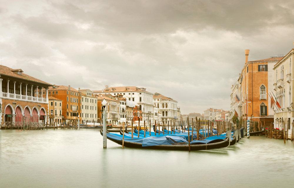 Gondola Station III, Grand Canal, Venice, Italy, 2012