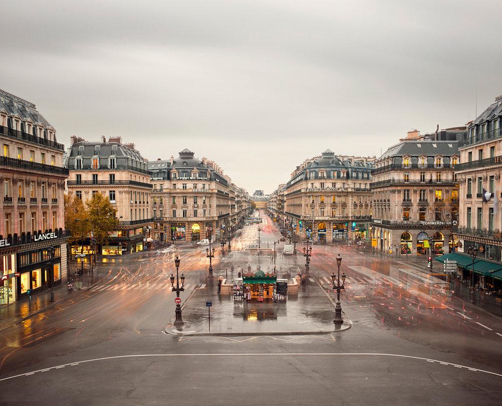Place de Opera, Paris, France, 2012