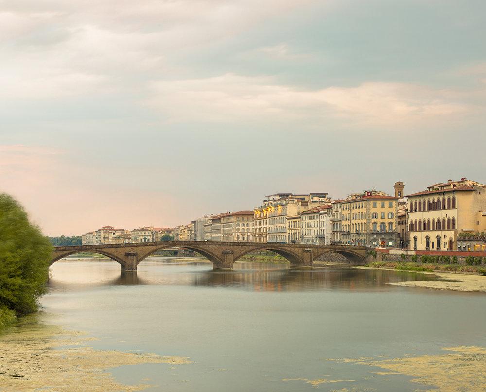 Ponte alla Carraia, Florence, Italy, 2012