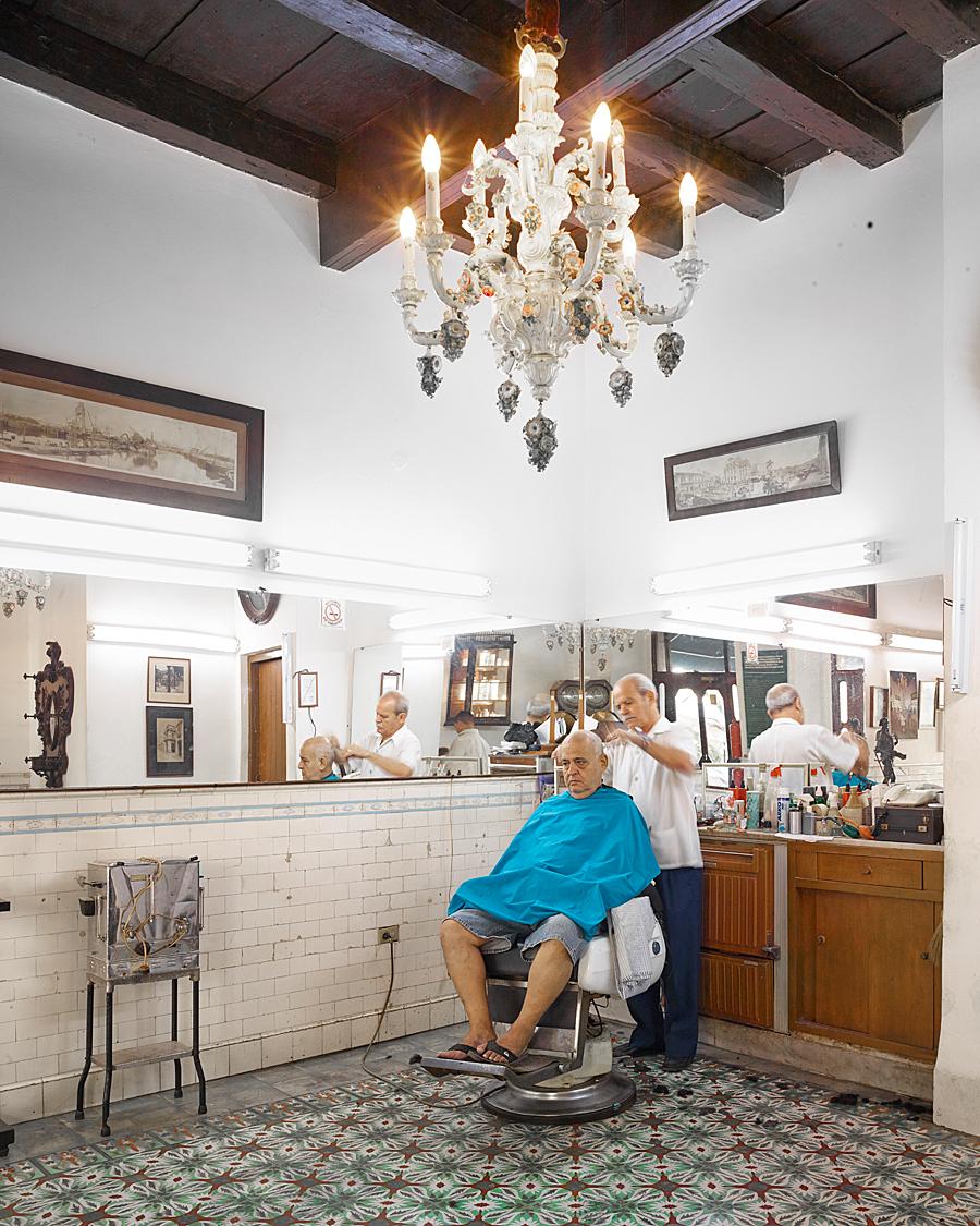 Barber, Havana, Cuba, 2014