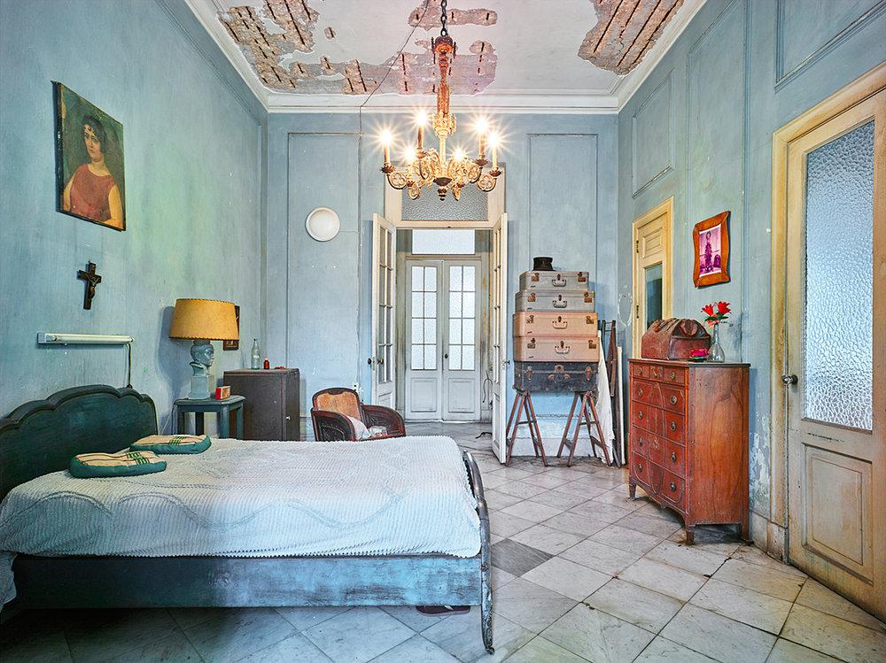 Blue Bedroom, Havanna, Cuba, 2014