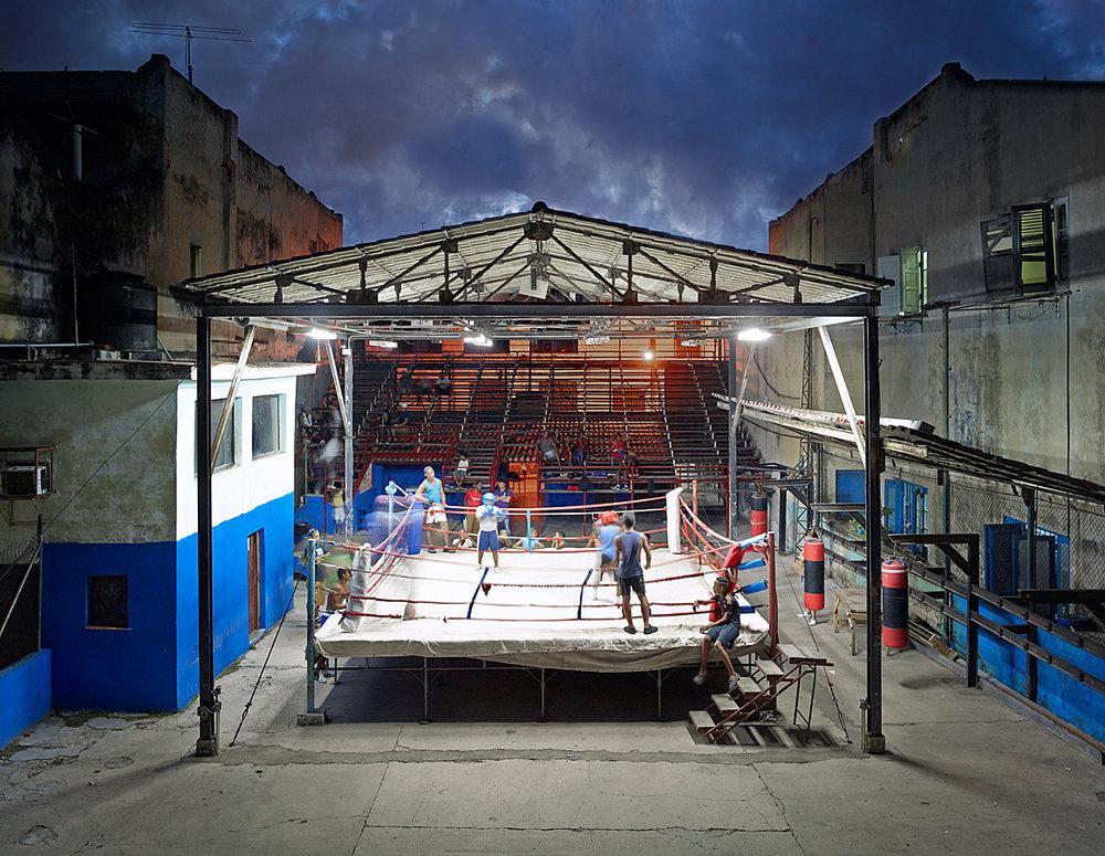 Gimnasio de Boxeo, Havanna, Cuba, 2014