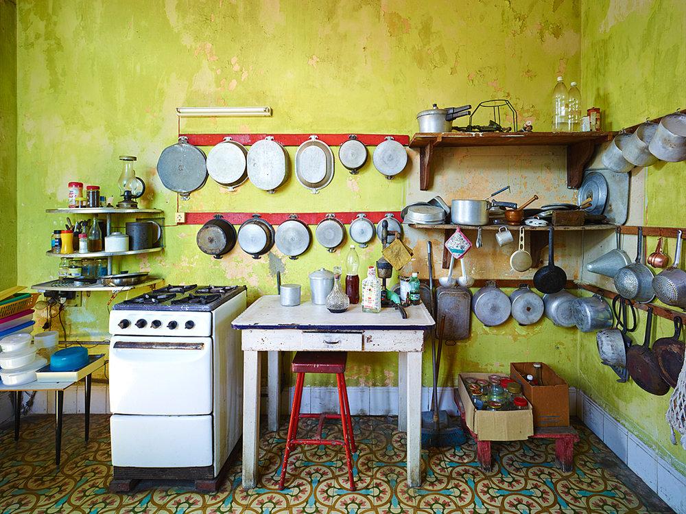 Kitchen, Havanna, Cuba, 2014