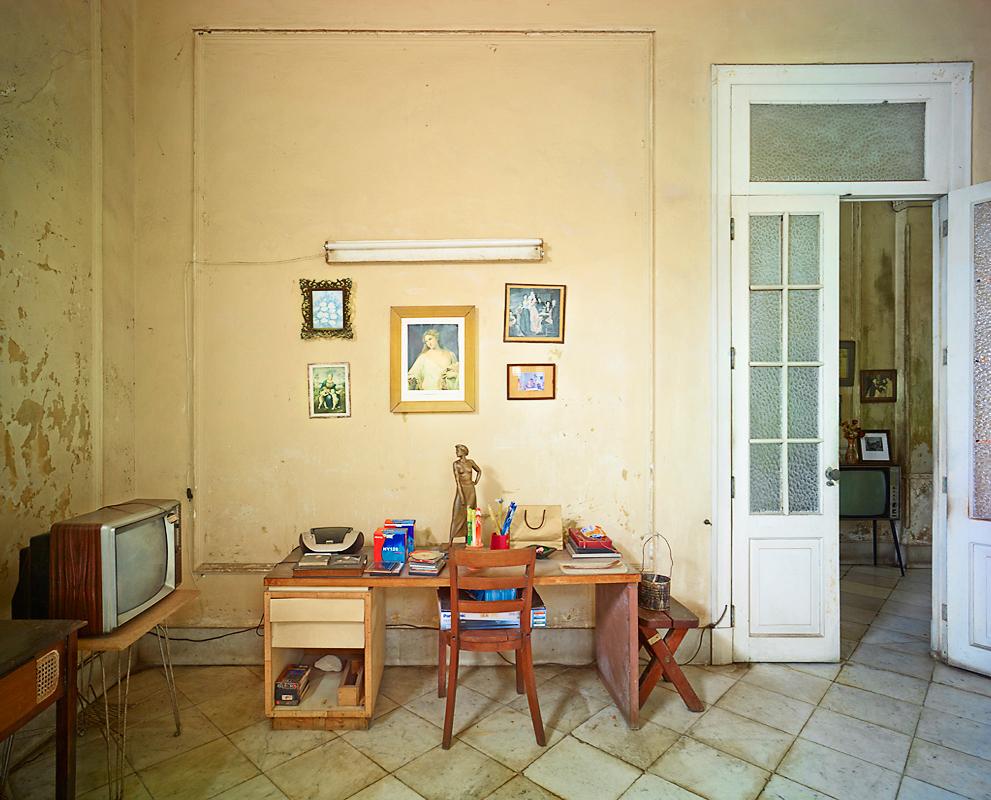 Marry's Desk, Havanna, Cuba, 2014