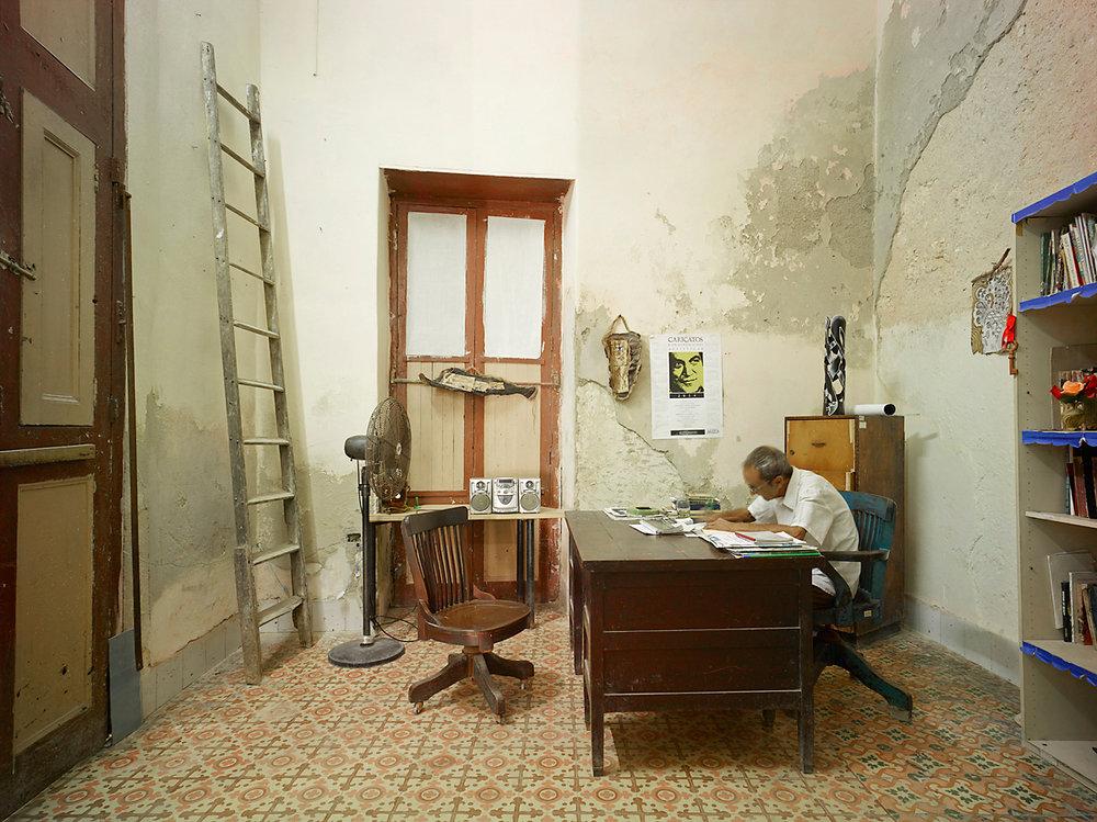 Office, Havanna, Cuba, 2014