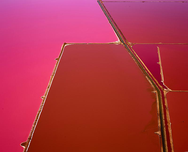 Pink Pools, Hut Lagoon, Western Australia, 2015