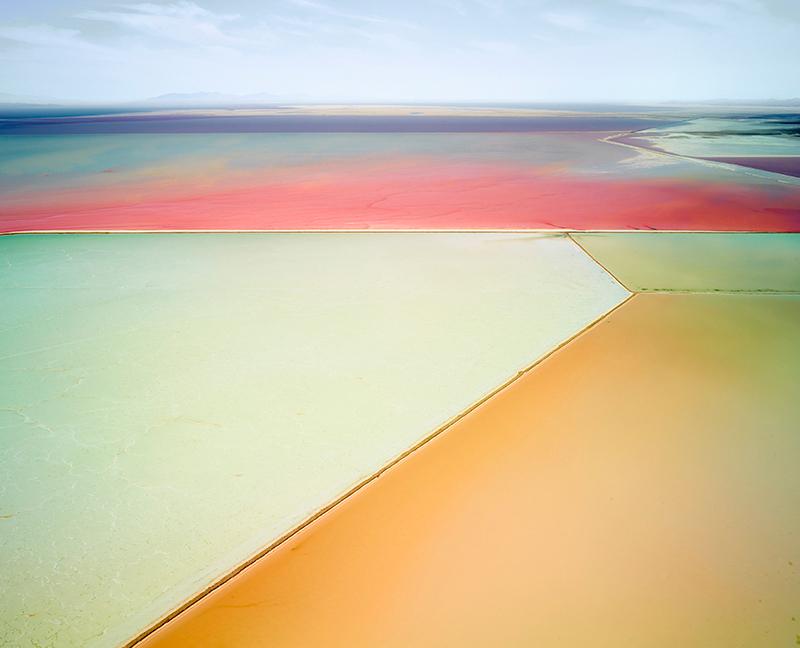 Saltern Study 01, Great Salt Lake, Utah, 2015