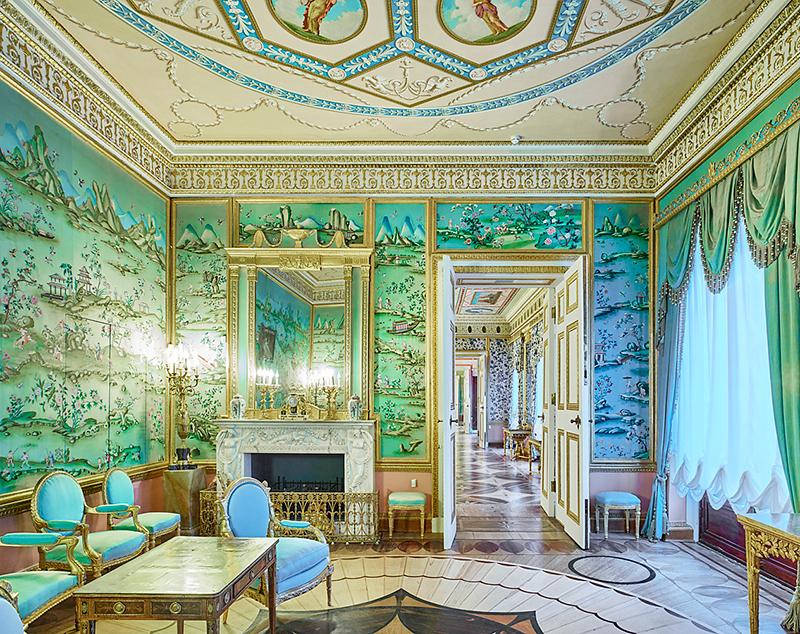 Green Room, Catherine Palace, 2015
