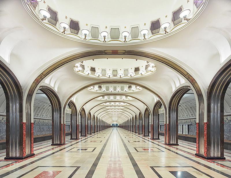 Mayakovskaya Station, Moscow, Russia, 2015