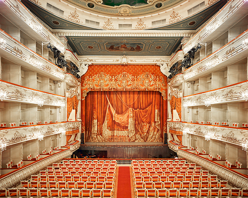 Mikhailovsky Theatre, St Petersburg, Russia, 2015