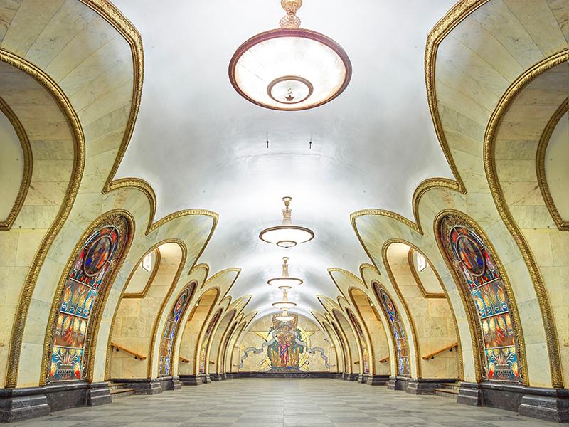 Novoslobodskaya Station, Moscow, 2015