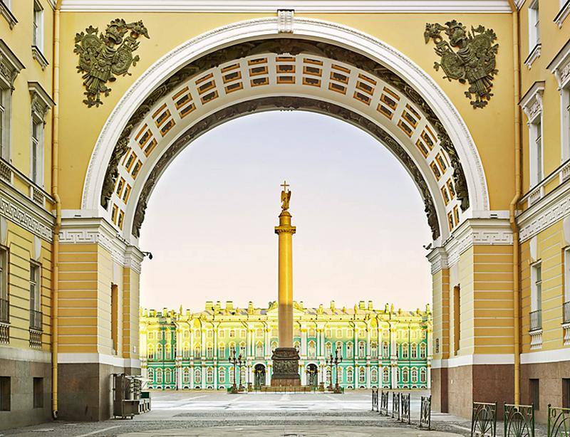 Palace Square, St Petersburg, 2015