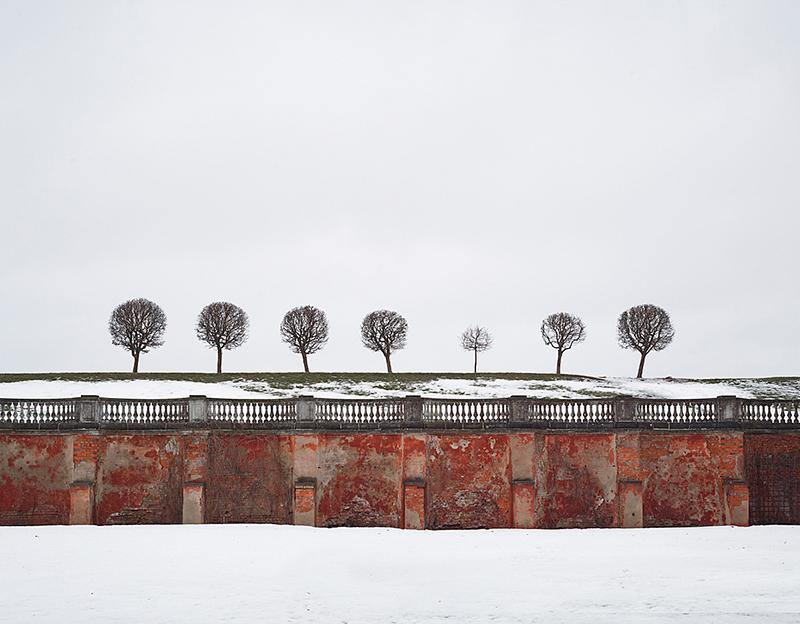 Red Wall, St Petersburg, 2015