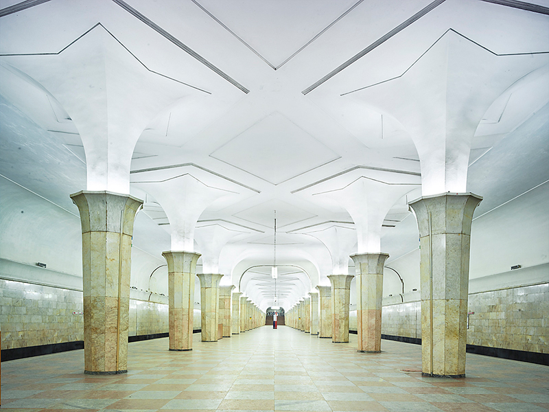 Untitled 6, Moscow Metro, 2015