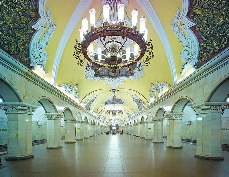 Untitled 8, Moscow Metro, 2015