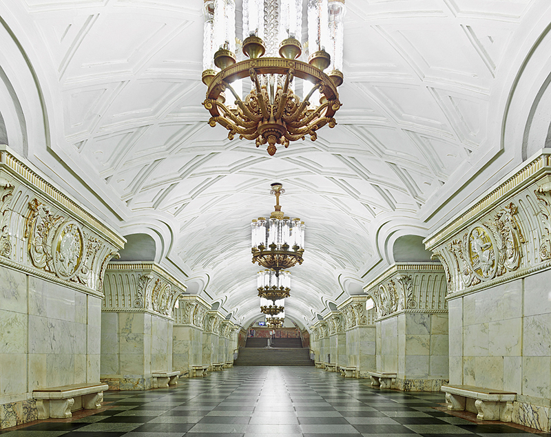 Untitled 10, Moscow Metro, 2015
