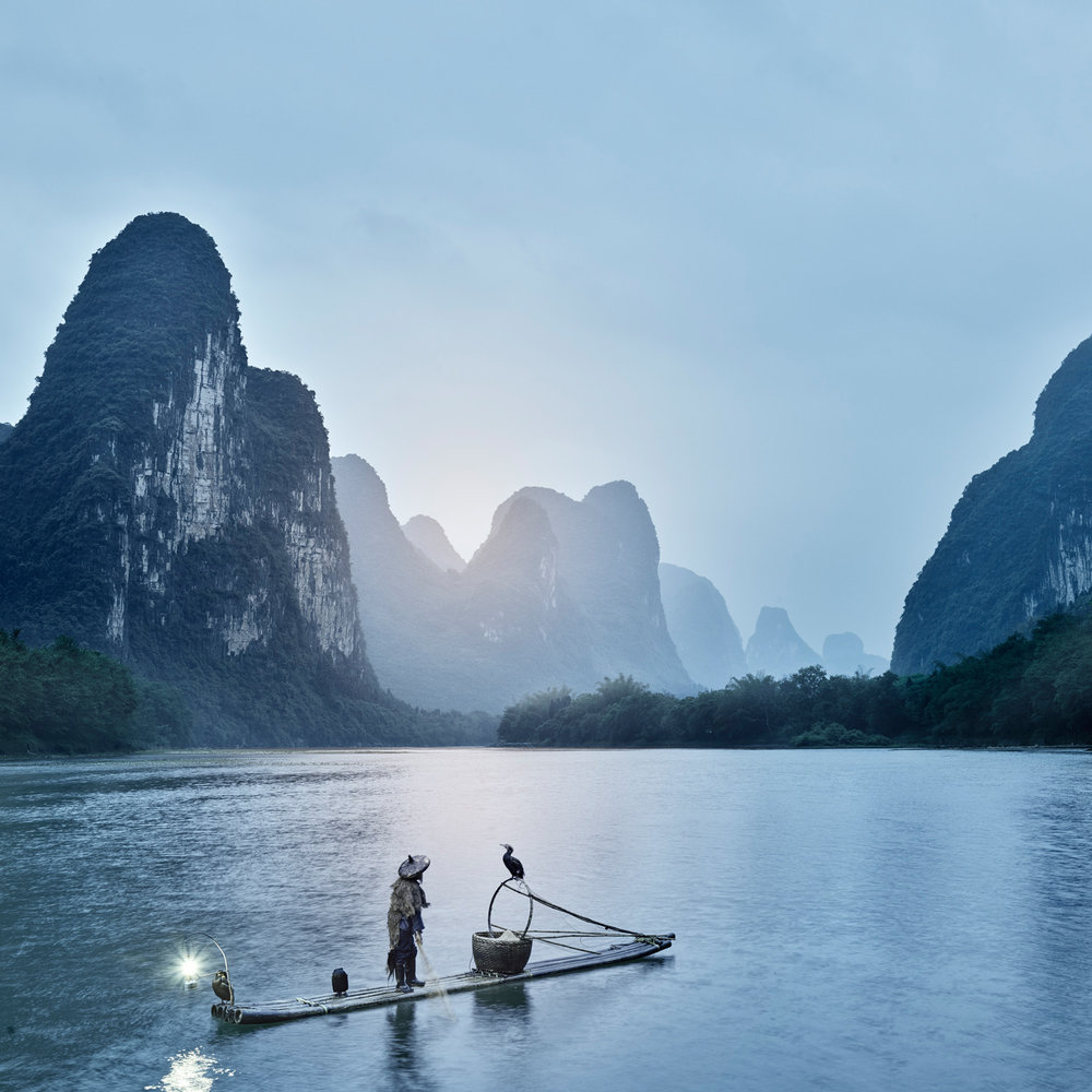 Li River 2, China, 2018