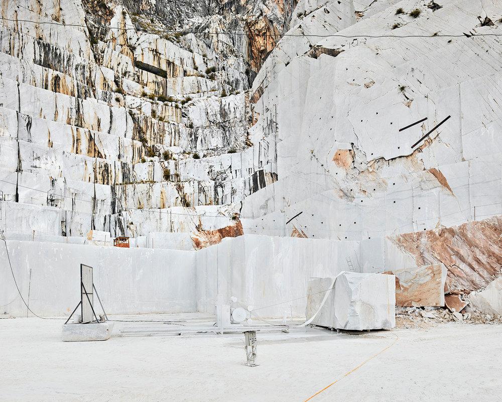Diamond Saw, Micelangelo Quarry, Carrera, Italy
