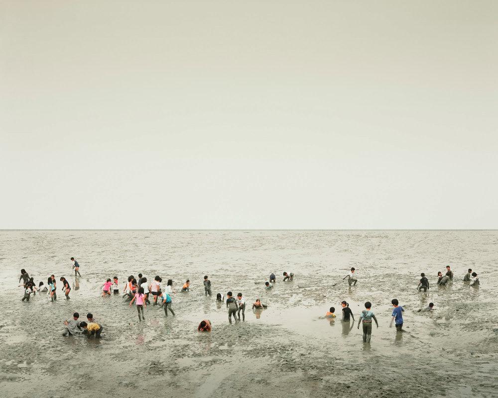 Mudflat, Ariake Sea, Kyūshū Japan, 2010