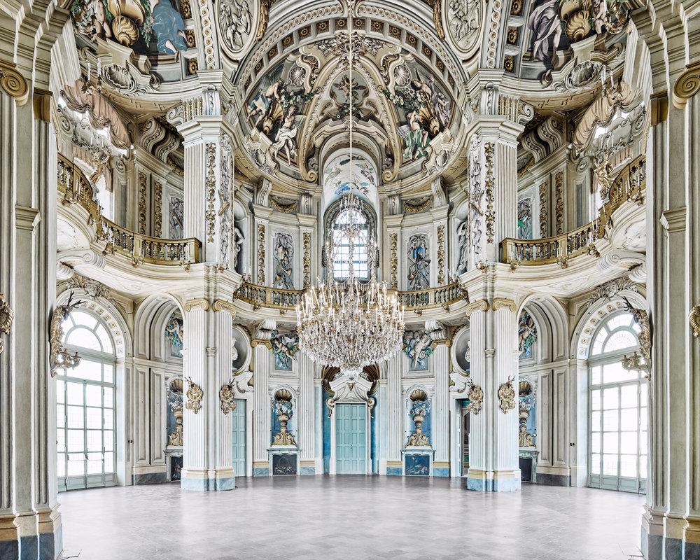 Rotunda, Stupinigi Palace, Piedmont, Italy, 2016