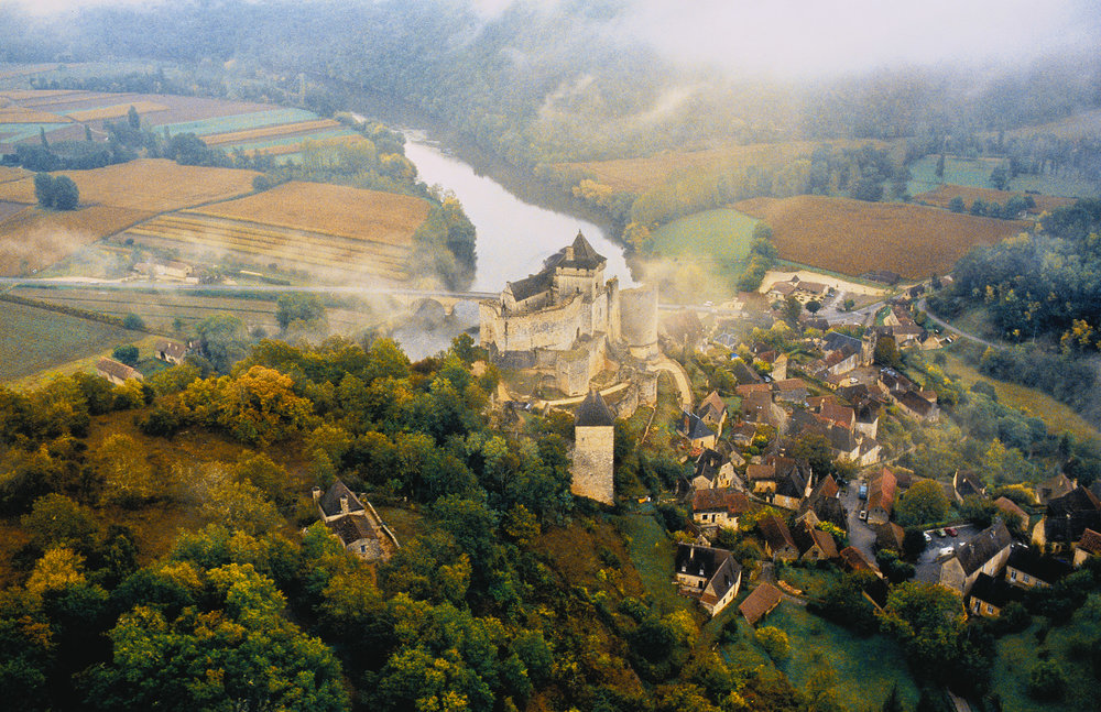 French Castle on the Dordogne