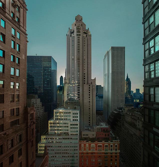 Jean Michel Berts -  New York Color 8