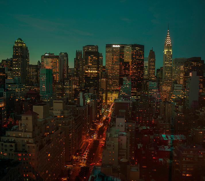 Jean Michel Berts -  New York Color 9