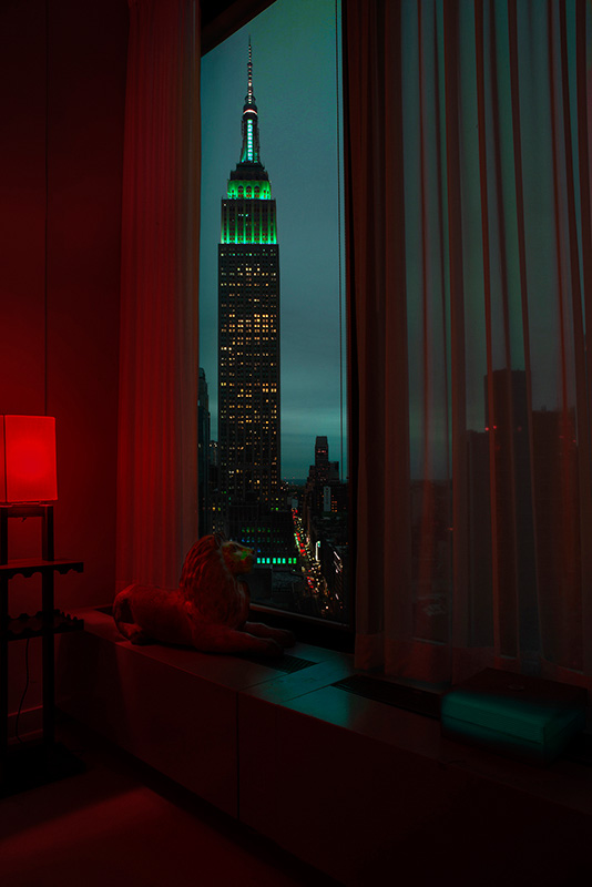 Jean Michel Berts -  New York Color 15