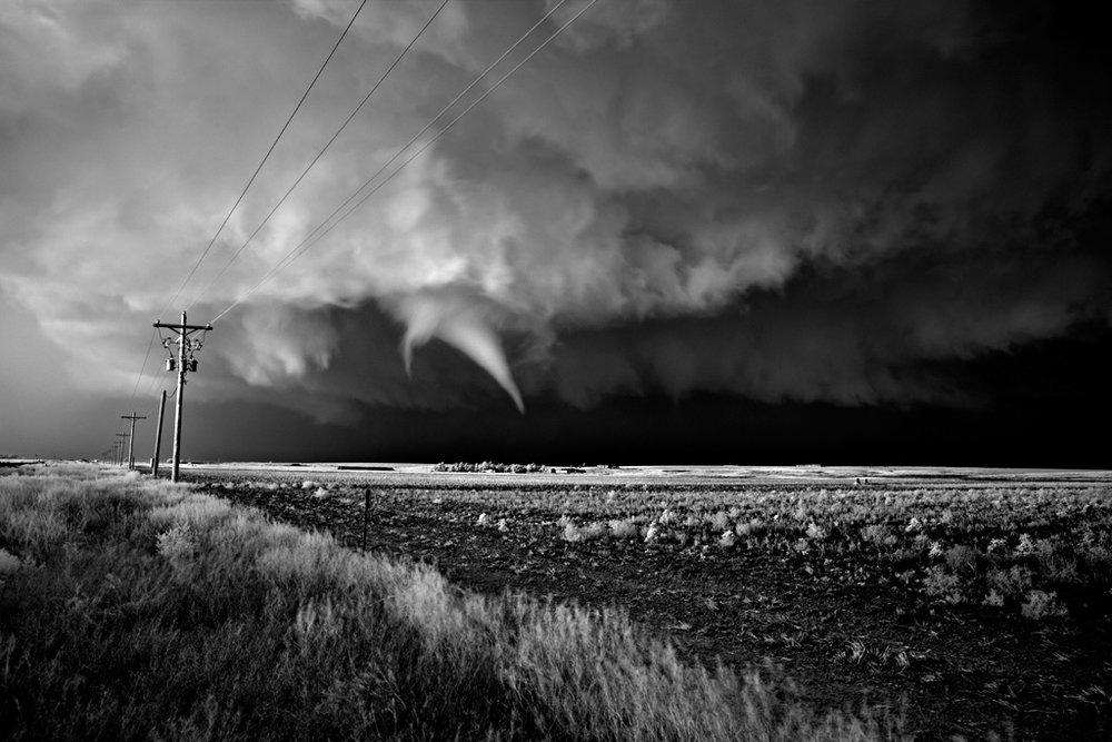 Tornado over Farm