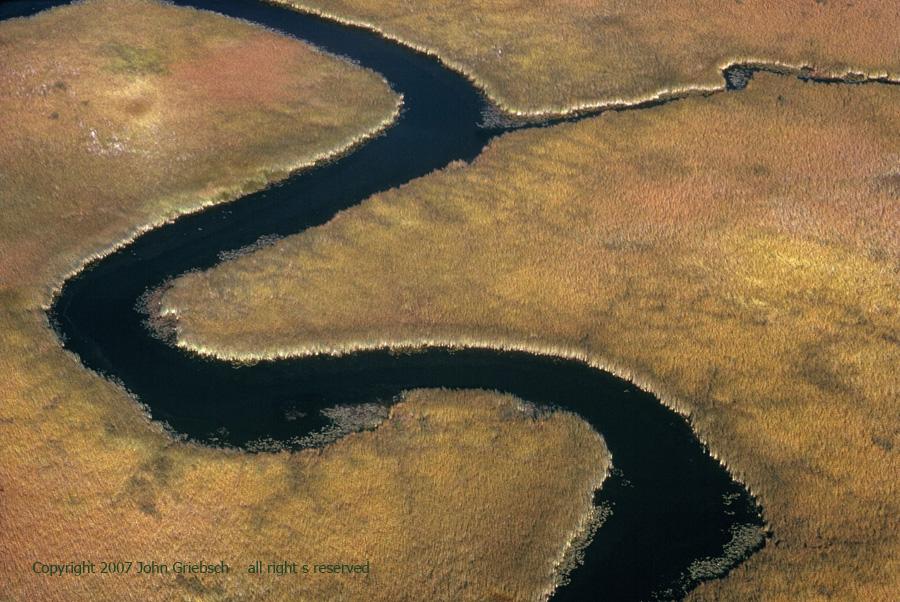Stream and Marsh near Fairhaven, NY