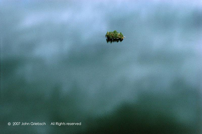 Island in the Clouds, Upper Saranac Lake, NY