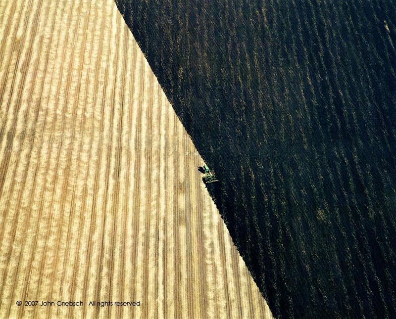 Plowed Fields near Hannibal, MO