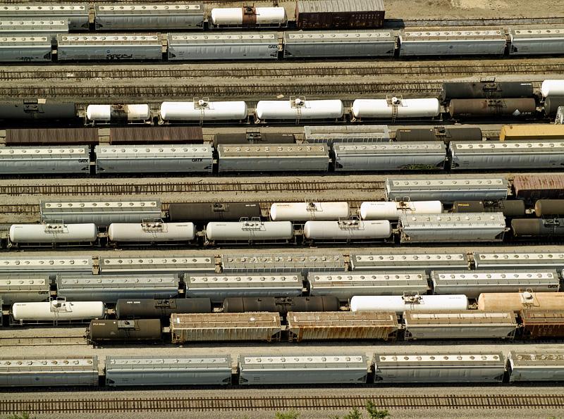 Locomotive Switching Yard - near New Orleans, LA