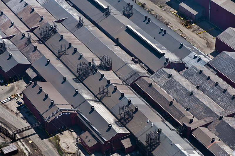 Roller Mill Roofs, Gary, IN