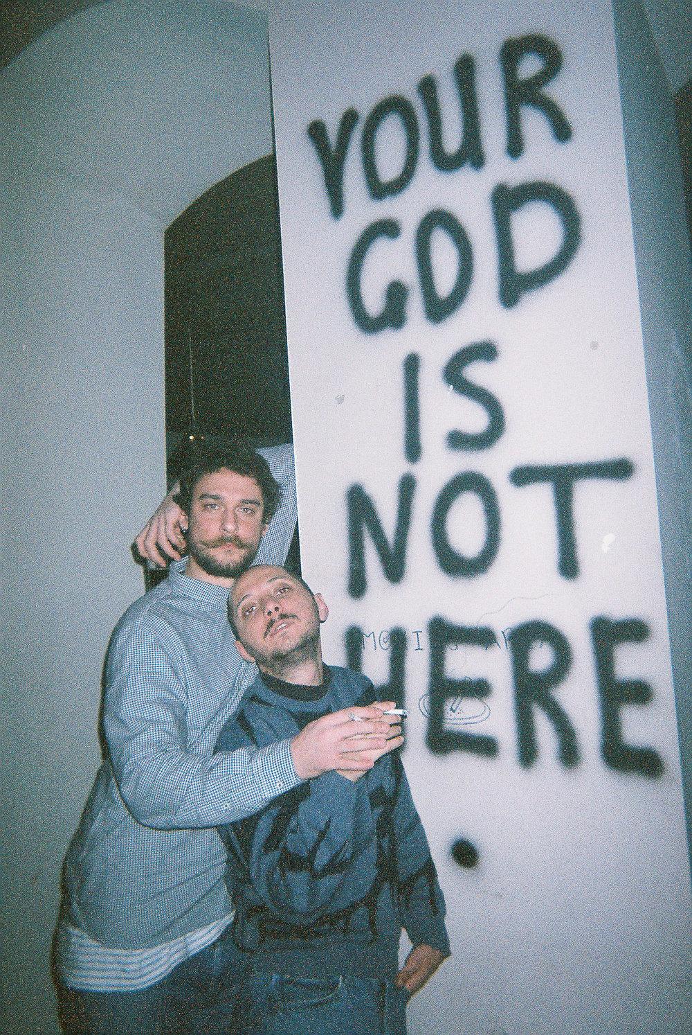 """""""აქ შენი ღმერთი არ არის"""""""