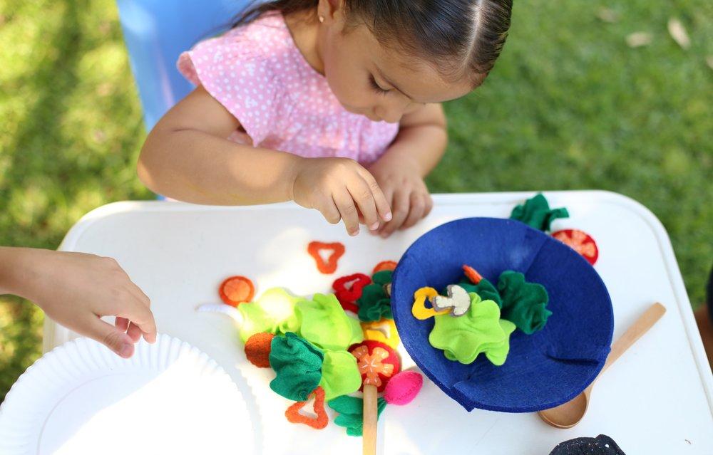 Creatividad - Comiditas pone los ingredientes, tú pones el juego