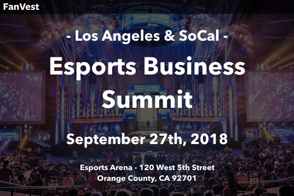 LOS ANGELES (Esports)   SEPTEMBER 27, 2018