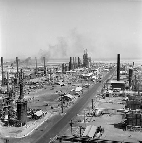 Bahrain Refinery Caltex 1936