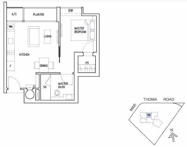 Riviera 38 - Floor Plan