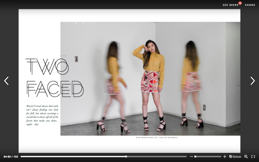 REVAMPED MAGAZINE VOL. 3 - Two Faced