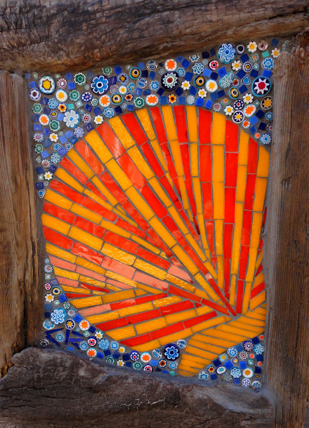Scallop (Stained Glass, Millefiori)