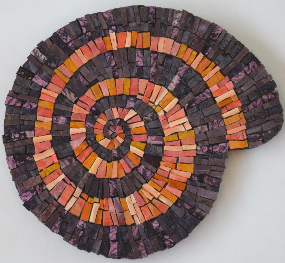 Spiral Shell (Smalti)