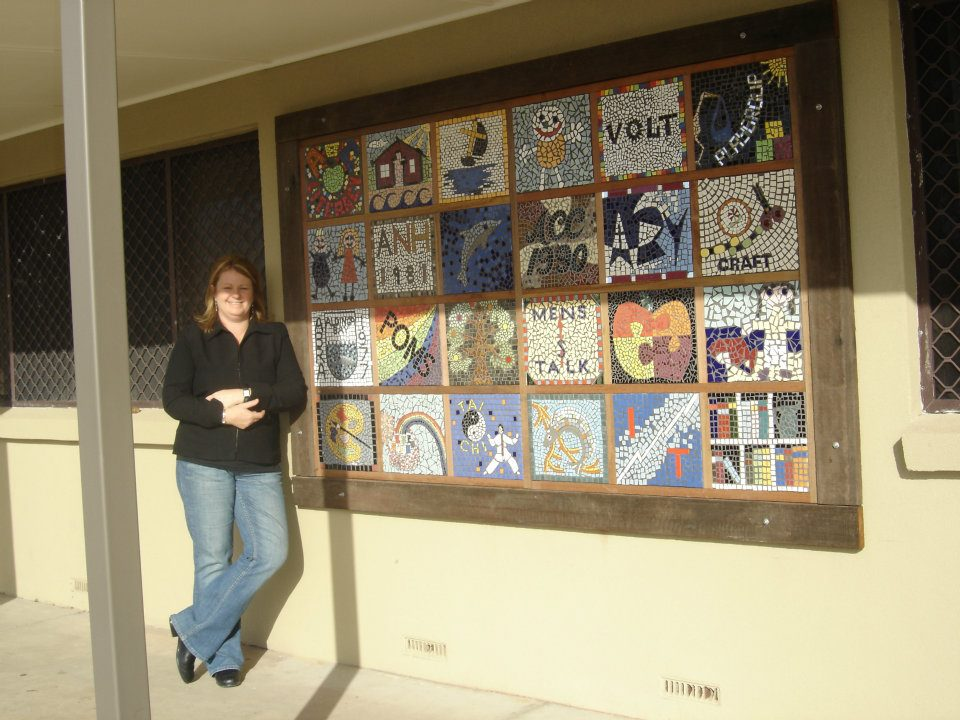 Aldinga Community Centre Grid Panel Mosaic