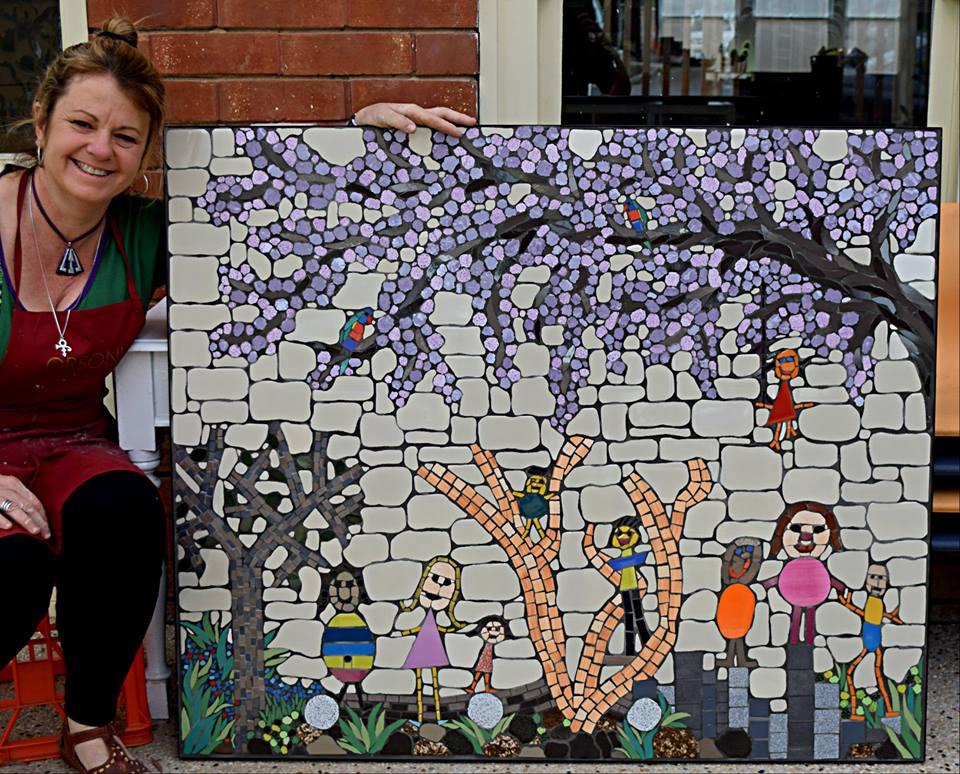 Hackney Kindergarten Mural 2016